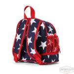 Plecak dla malucha z kieszenią na drugie śniadnie – granatowa w gwiazdy Penny Scallan 5015