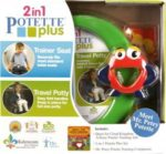 Zestaw Potette Plus 2w1 - książeczka + zabawka, zielony 7008