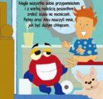Zestaw Potette Plus 2w1 – książeczka + zabawka, niebieski 7004