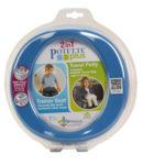 Zestaw Potette Plus 2w1 – książeczka + zabawka, niebieski 7006