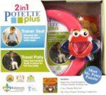 Zestaw Potette Plus 2w1 - książeczka + zabawka, różowy 6994