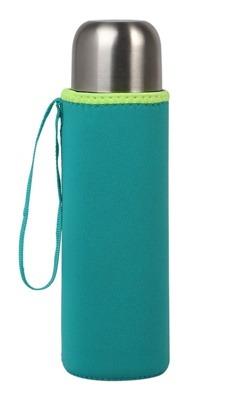 Etui na termos lub butelkę, neoprenowe niebieskie - KioKids 7174
