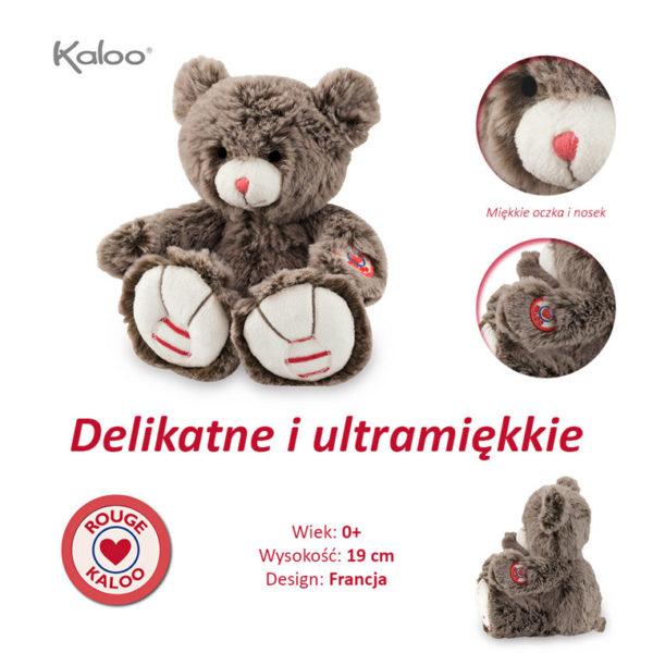 Kaloo Miś czekoladowy brąz 19 cm kolekcja Rouge 6008