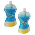 Zapasowe saszetki Fill'n Squeeze - wzór: Plaża 7187