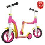Highwaybaby 2w1 hulajnoga i rowerek 1+ Pink, Scootandride 8963