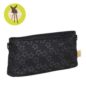 Lassig Casual Label Organizer do Wózka Reflective Star black 10143