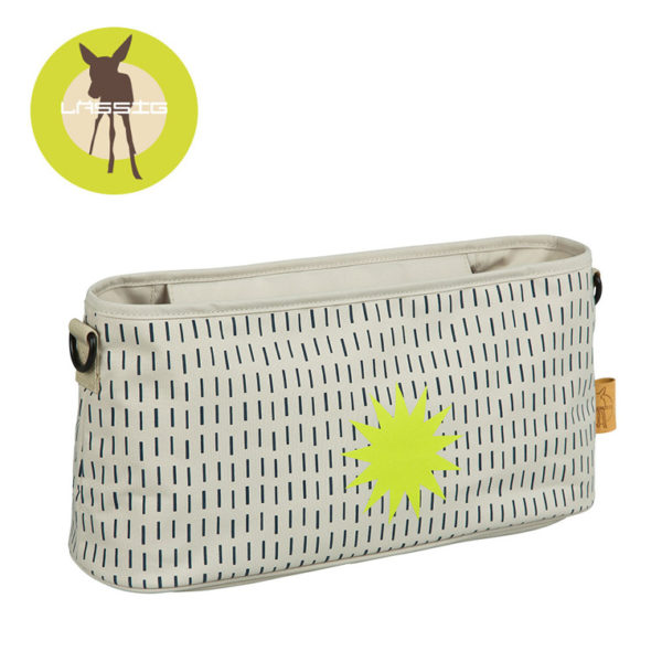 Lassig Casual Label Organizer do Wózka Dots & Strokes sand 10150