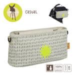 Lassig Casual Label Organizer do Wózka Dots & Strokes sand 10151