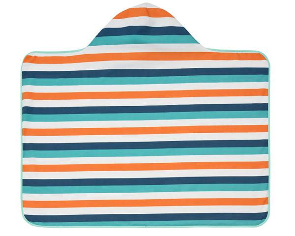 Lassig, Ręcznik z kapturem Multistripe 10432