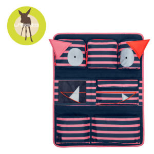 Lassig Organizer do Samochodu Little Monster koral 11082