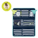 Lassig Organizer do Samochodu Little Monster granat 11171