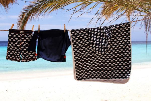 Lassig Ręcznik Poncho Viking 120x60 cm UV 50+ 11711