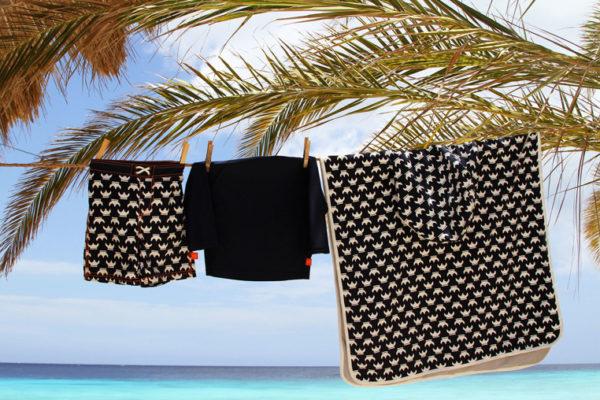 Lassig Ręcznik Poncho Viking 120x60 cm UV 50+ 11712