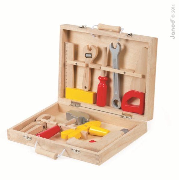 Walizeczka z narzędziami Bricolo, Janod 8279