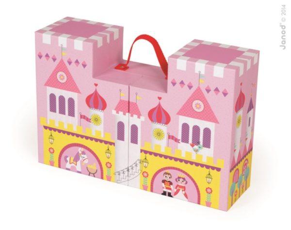 Zamek księżniczki w walizce, Janod 8839
