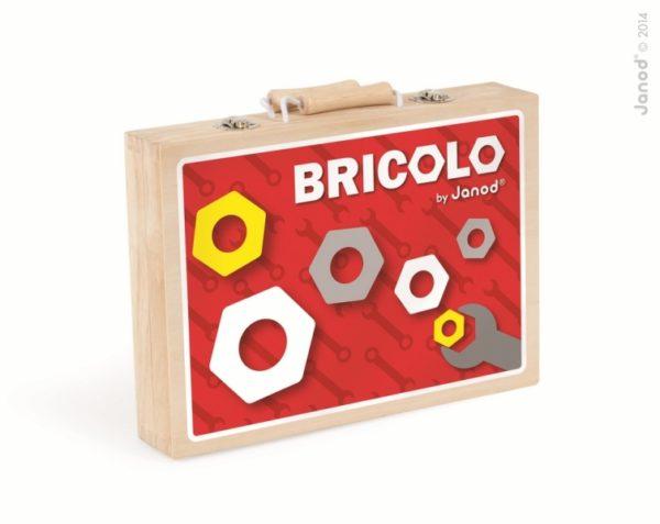 Walizeczka z narzędziami Bricolo, Janod 8280