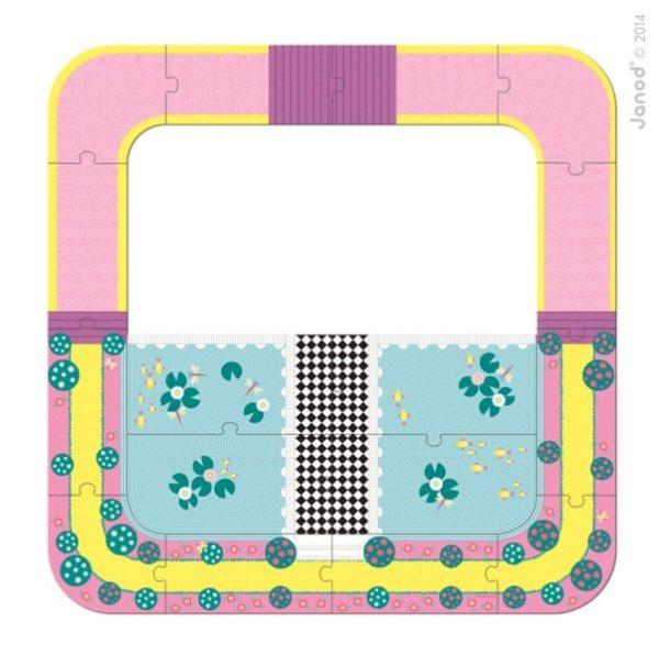 Zamek księżniczki w walizce, Janod 8837