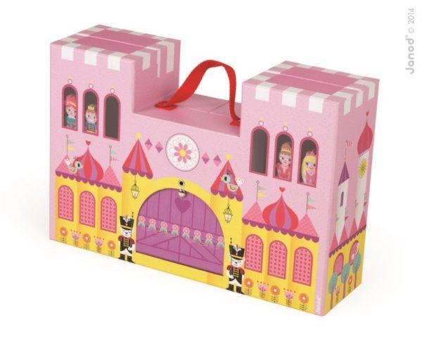 Zamek księżniczki w walizce, Janod 8838