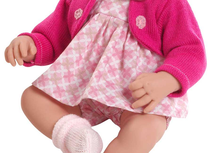 Lalka dziewczynka w sweterku